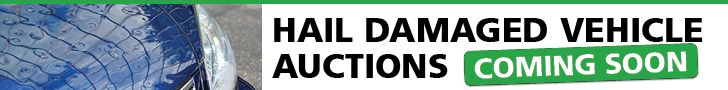 Hail Damaged Vehicle Auctions - Coming Soon